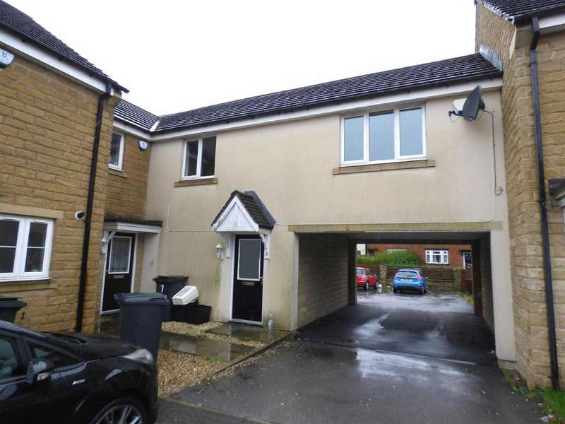 1 Bedroom Terraced House for sale in Stott Close, Pellon, Halifax, West Yorkshire, HX1