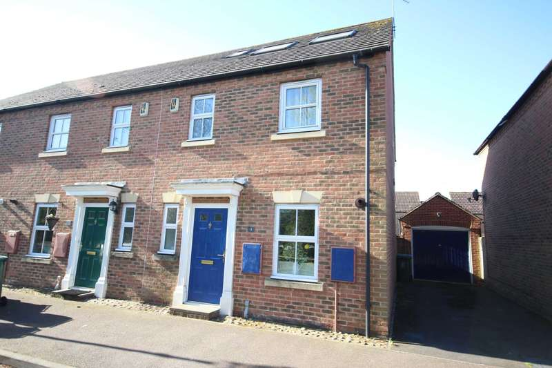 4 Bedrooms End Of Terrace House for sale in Swallow Lane, Fairford Leys