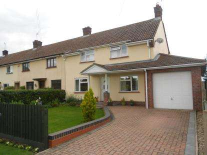 3 Bedrooms End Of Terrace House for sale in Lower Farm Road, Bromham, Bedford, Bedfordshire