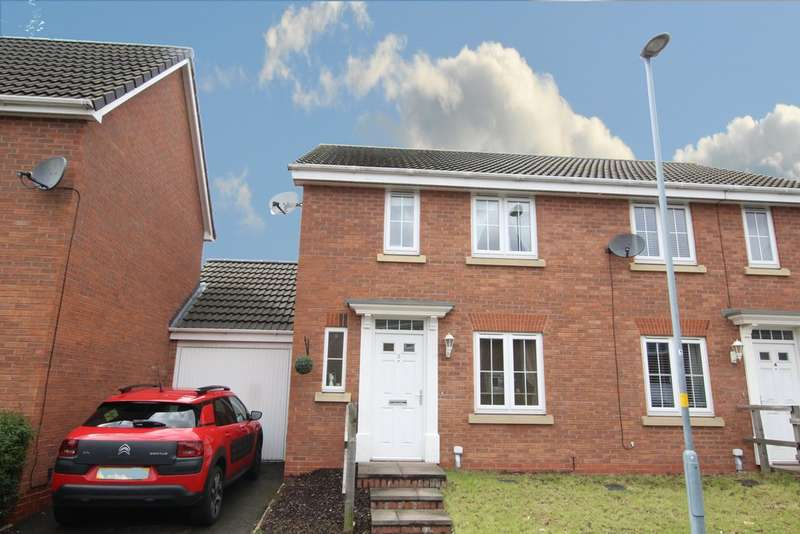 3 Bedrooms Semi Detached House for sale in Guillimot Grove, Perry Common, B23 5AL