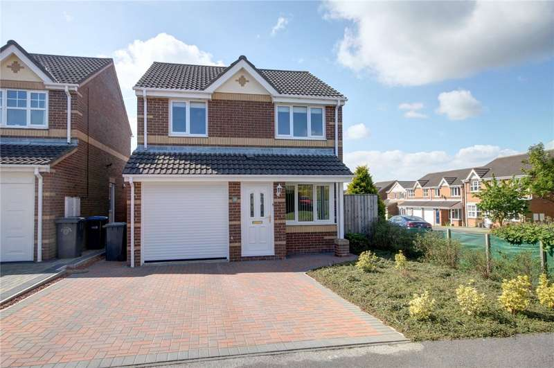 3 Bedrooms Detached House for sale in Railway Close, Sherburn Village, Durham, DH6