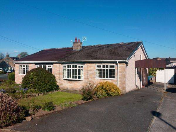 2 Bedrooms Semi Detached Bungalow for sale in 17 Aire Crescent, Cross Hills BD20 7RW