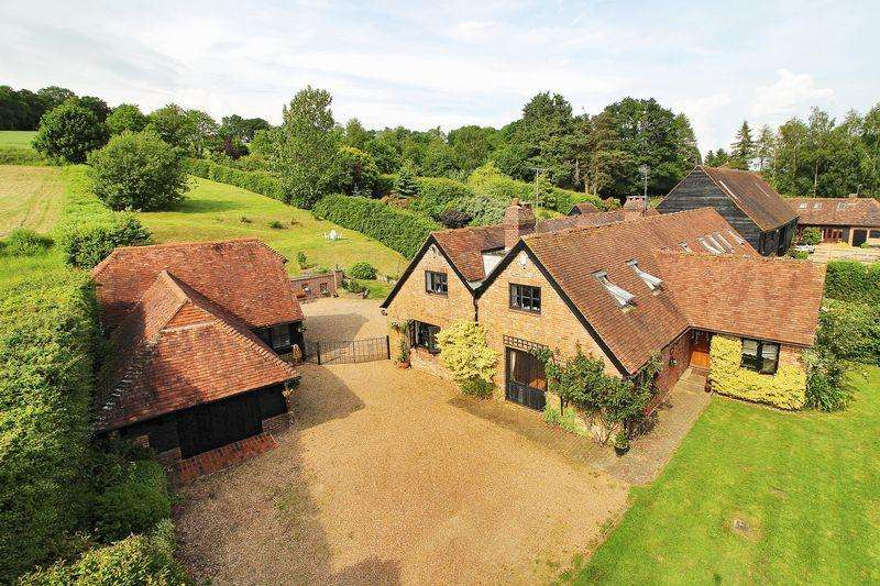 5 Bedrooms Barn Conversion Character Property for sale in Beech Green Lane, Withyham, East Sussex