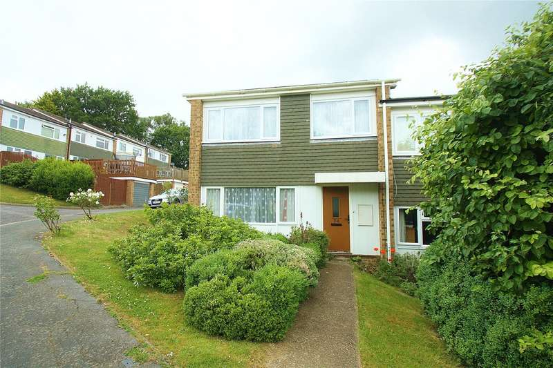 2 Bedrooms End Of Terrace House for sale in Waterers Rise, Knaphill, Woking, Surrey, GU21
