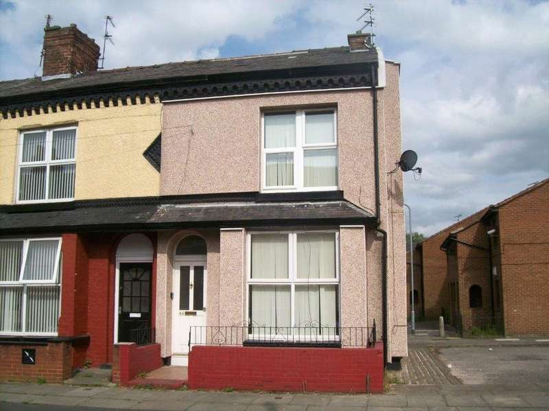2 Bedrooms Terraced House for sale in Shelley Street, Bootle, Merseyside, L20