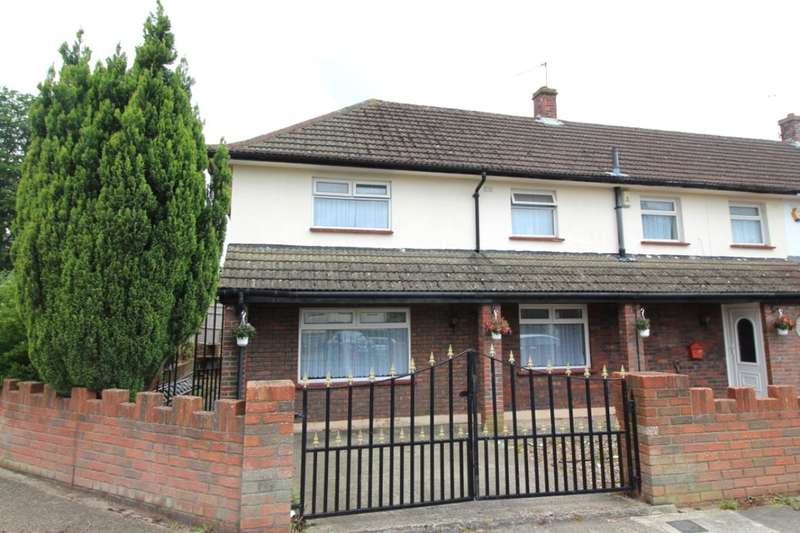 4 Bedrooms Semi Detached House for sale in Cooper Road, Lords Wood, Chatham, ME5