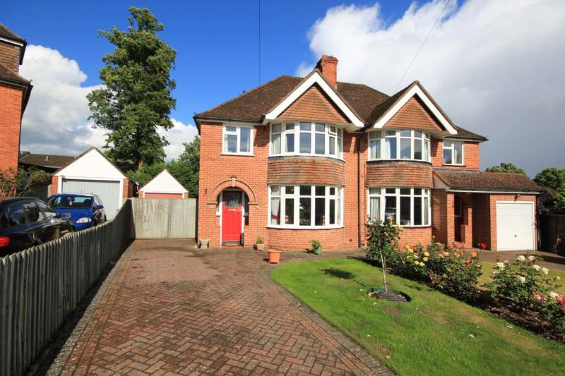3 Bedrooms Semi Detached House for sale in Littlecote Drive, Reading, RG1