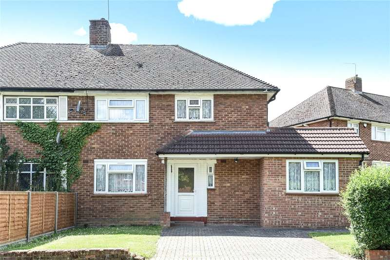 3 Bedrooms Semi Detached House for sale in Sitwell Grove, Stanmore, Middlesex, HA7