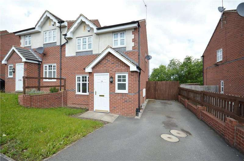 3 Bedrooms Semi Detached House for sale in Borrowdale Crescent, Leeds, West Yorkshire