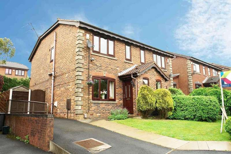 3 Bedrooms Semi Detached House for sale in 5 Cranleigh Close, Oldham