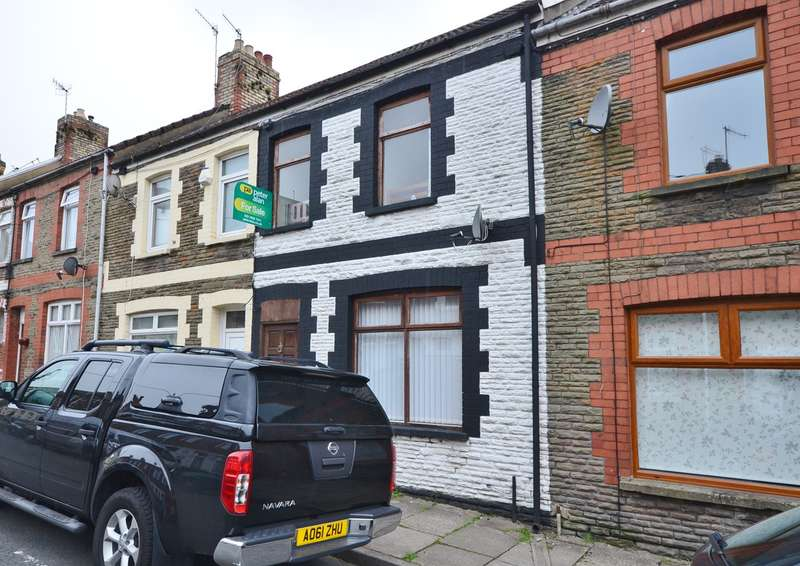 3 Bedrooms Terraced House for sale in Salop Street, Caerphilly, CF83
