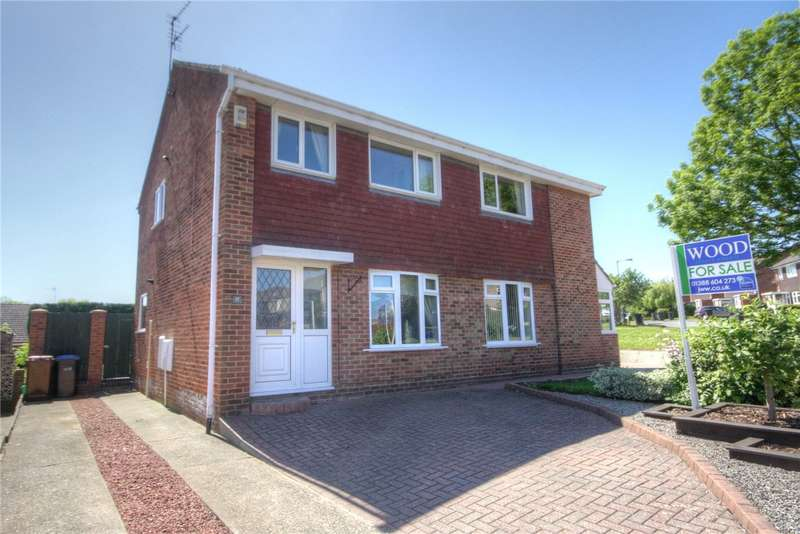 3 Bedrooms Semi Detached House for sale in Stirling Close, Etherley Dene, Bishop Auckland, DL14