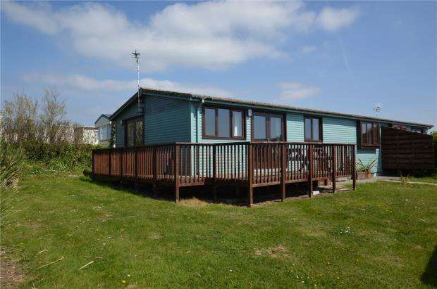 3 Bedrooms Detached Bungalow for sale in Gwenver Lodge, Sea View Holiday Park, Sennen, Penzance