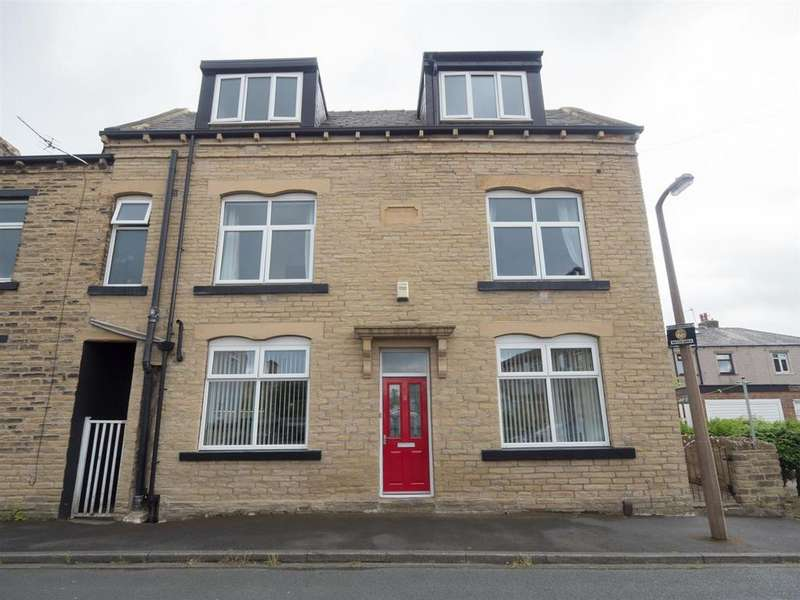 4 Bedrooms End Of Terrace House for sale in Strathmore Close, Bradford, BD2 3DQ