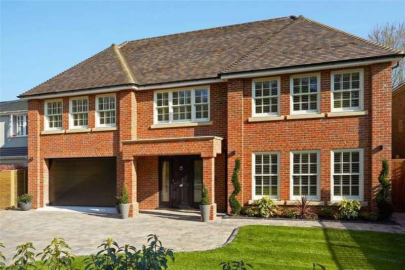5 Bedrooms Detached House for sale in Heathfield, Cobham, Surrey, KT11