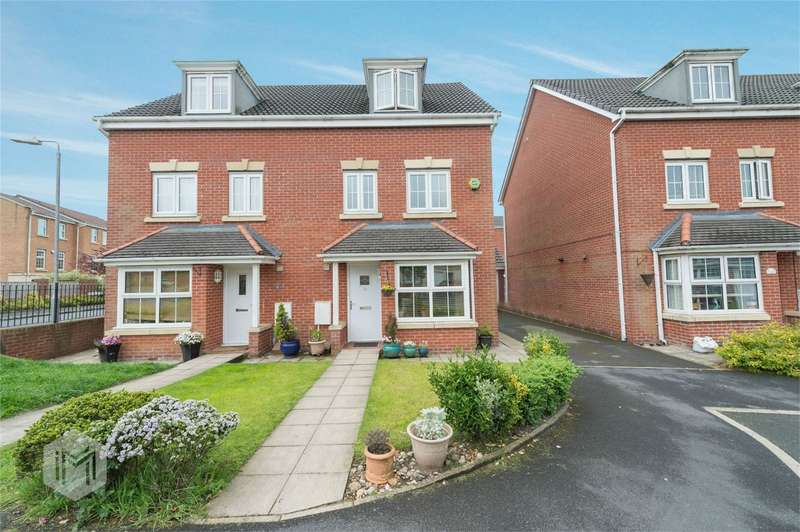4 Bedrooms Semi Detached House for sale in Hazel Pear Close, Horwich, Bolton, Lancashire