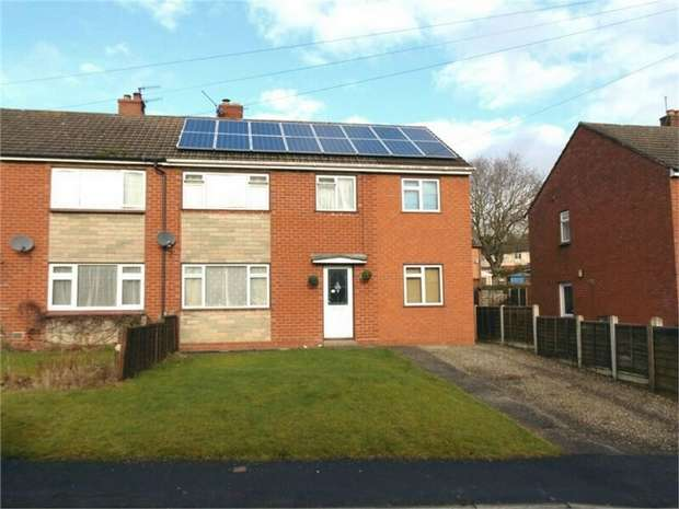 4 Bedrooms Semi Detached House for sale in Grange Road, Bishops Castle, Shropshire