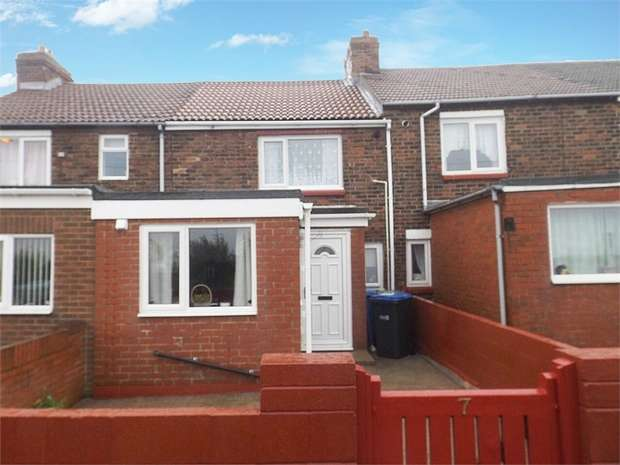 2 Bedrooms Terraced House for sale in Dene Avenue, Peterlee, Durham