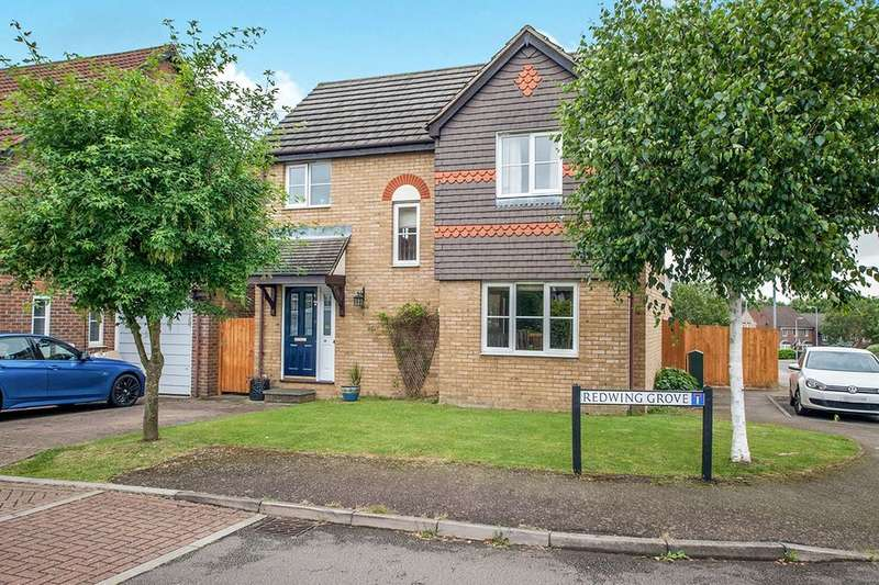 3 Bedrooms Detached House for sale in Redwing Grove, Abbots Langley, WD5