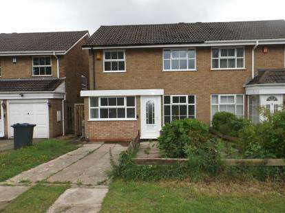 3 Bedrooms Semi Detached House for sale in Hanging Lane, Northfield, Birmingham, West Midlands