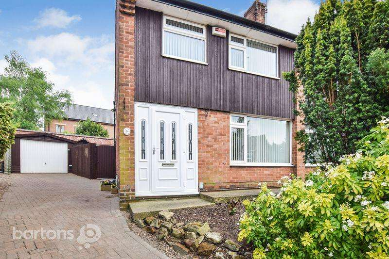 3 Bedrooms Semi Detached House for sale in Hall Grove, Moorgate