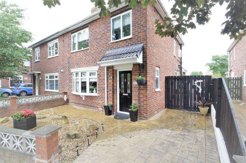 3 Bedrooms Semi Detached House for sale in Glendale Road, Middlesbrough, TS5 7QA