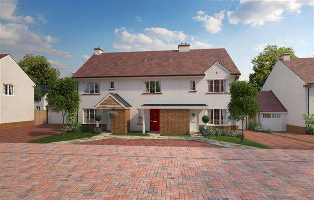 2 Bedrooms Terraced House for sale in Off Culm Lea, Cullompton EX15 1NJ