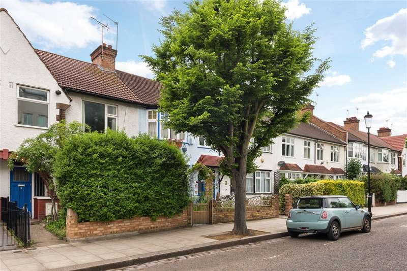 3 Bedrooms Terraced House for sale in Pangbourne Avenue, North Kensington, London, W10