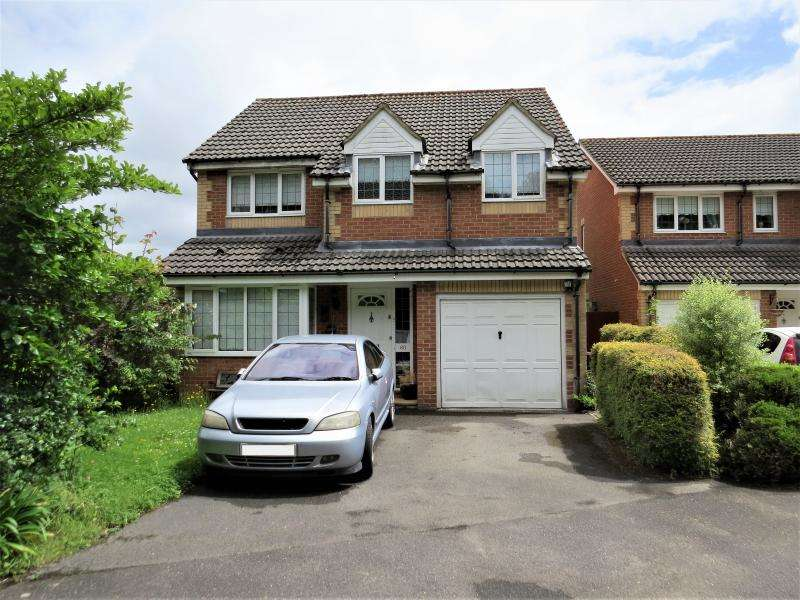 4 Bedrooms Detached House for sale in Forest Oak Drive, NEW MILTON, BH25