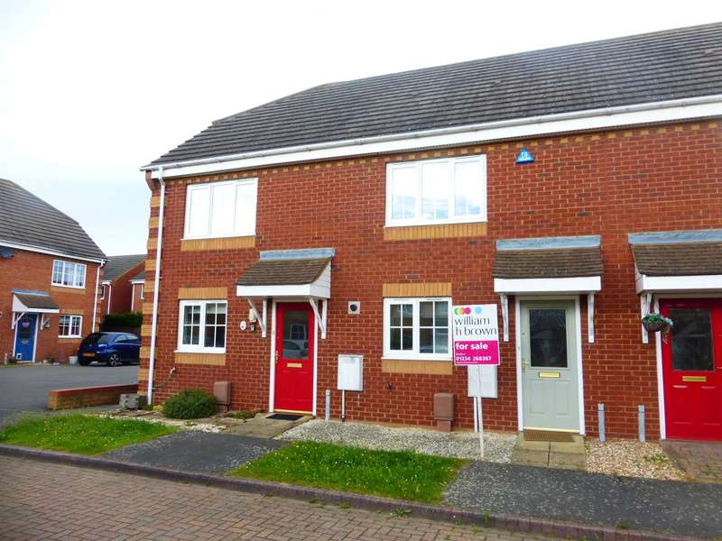 2 Bedrooms Terraced House for sale in Sunderland Place, Shortstown, Bedford, MK42