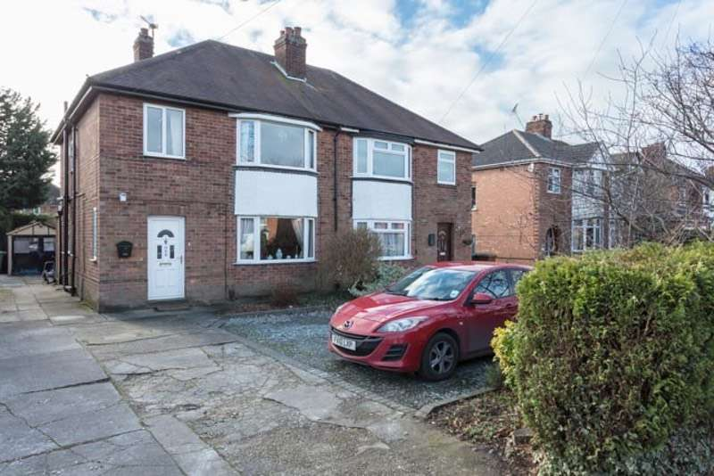 3 Bedrooms Semi Detached House for sale in Doddington Road, Lincoln, Lincolnshire, LN6
