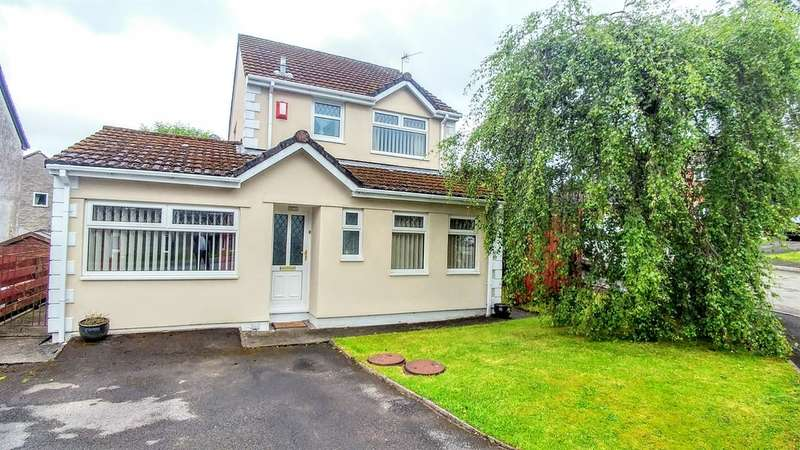3 Bedrooms Detached House for sale in High Close, Nelson, Treharris