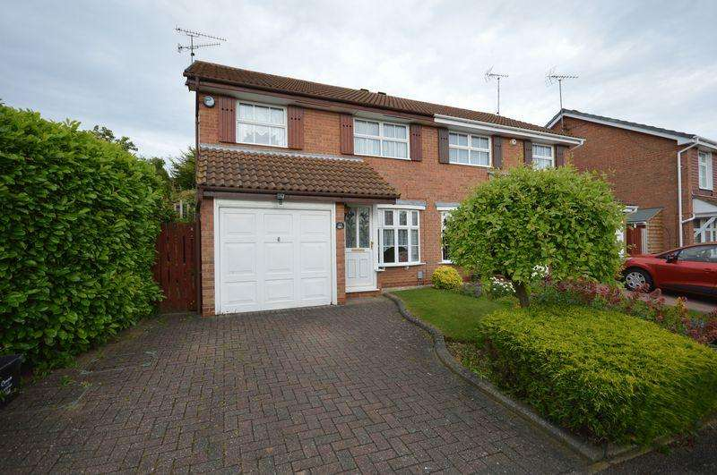 3 Bedrooms Semi Detached House for sale in Corinium Gardens, Luton