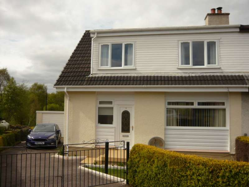 3 Bedrooms Semi Detached House for sale in 9 Clachan Beag, Strachur, Cairndow, PA27 8DG