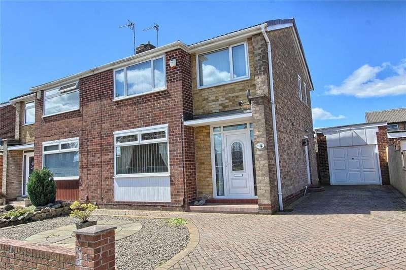 3 Bedrooms Semi Detached House for sale in Elton Road, Wolviston Court