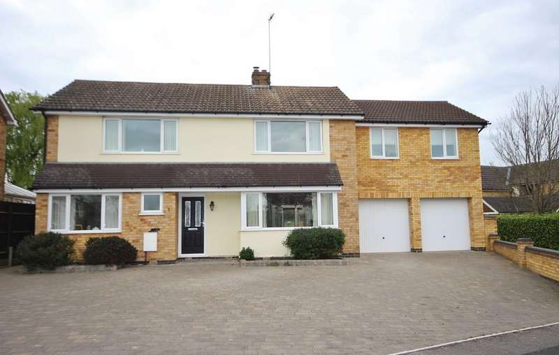 4 Bedrooms Detached House for sale in Barnsdale Close, Great Easton