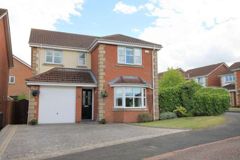 4 Bedrooms Detached House for sale in Aberwick Drive, Chester Le Street, DH2
