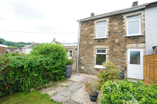 3 Bedrooms End Of Terrace House for sale in Wellspring Terrace, Risca, NEWPORT, Caerphilly
