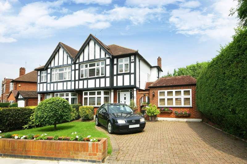4 Bedrooms Semi Detached House for sale in Rodney Gardens, Pinner