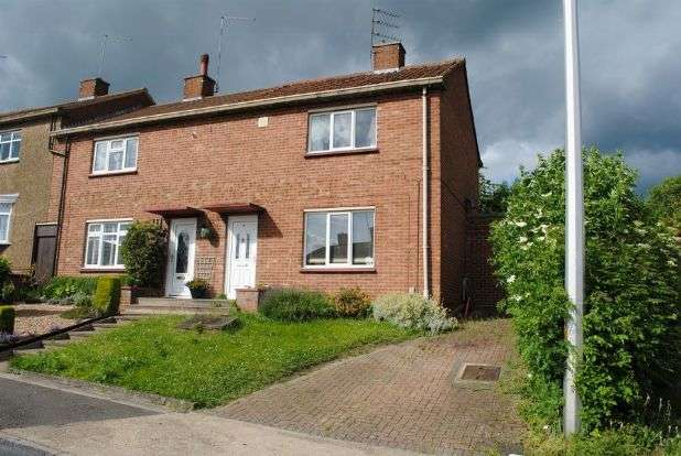 2 Bedrooms Semi Detached House for sale in Helmdon Road, Kingsthorpe, Northampton NN2 8JT