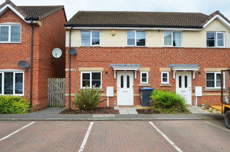 3 Bedrooms Semi Detached House for sale in Oatland Drive, Cawston, Rugby