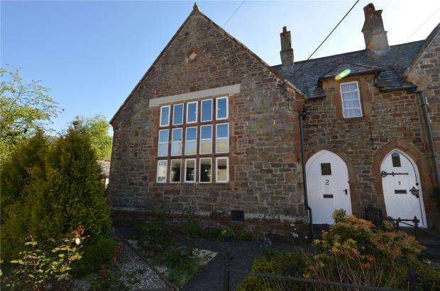 3 Bedrooms Terraced House for sale in The Old School House, Exeter Street, North Tawton
