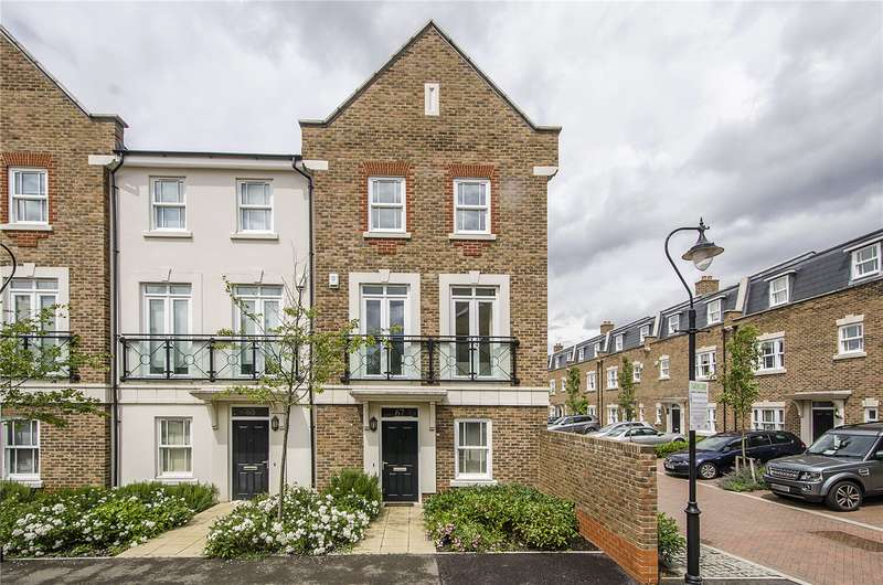 4 Bedrooms Terraced House for sale in Holford Way, London, SW15