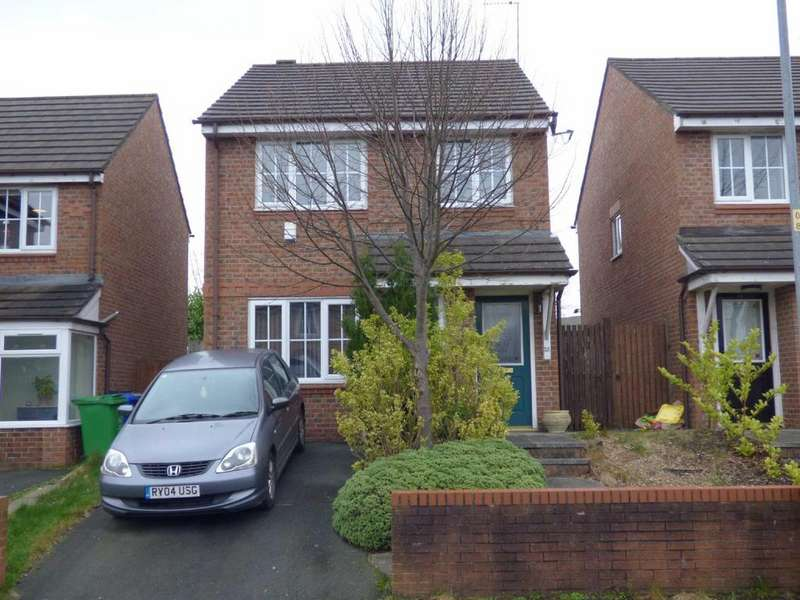 3 Bedrooms Detached House for sale in Marshbrook Drive, Blackley, Manchester, M9