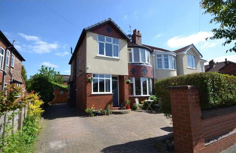 4 Bedrooms Semi Detached House for sale in Sandhurst Avenue, West Didsbury