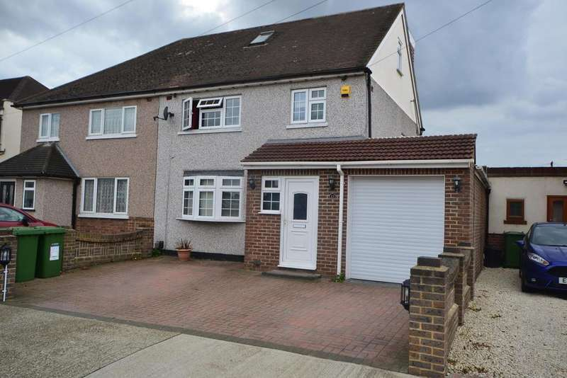 4 Bedrooms Semi Detached House for sale in Winchester Avenue, Upminster, Essex, RM14