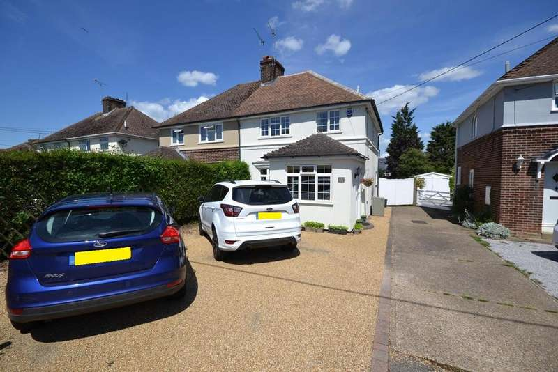 3 Bedrooms Semi Detached House for sale in Woodside Cottages, Nathans Lane, Edney Common, Chelmsford, Essex, CM1