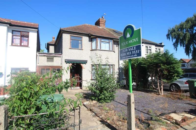 3 Bedrooms Semi Detached House for sale in Oakwood Drive, Bexleyheath, DA7