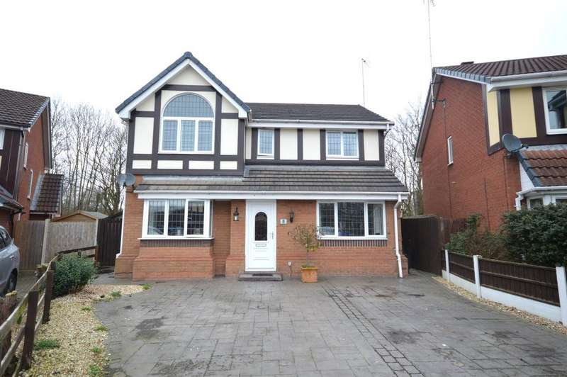 4 Bedrooms Detached House for sale in Bayswater Close, Sandymoor