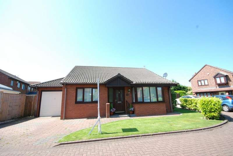 2 Bedrooms Bungalow for sale in Leander Drive, Boldon Colliery